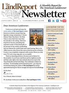 Land Report Newsletter January 2012