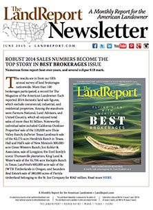 Land Report Newsletter June 2015