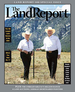 The Land Report Fall 2011