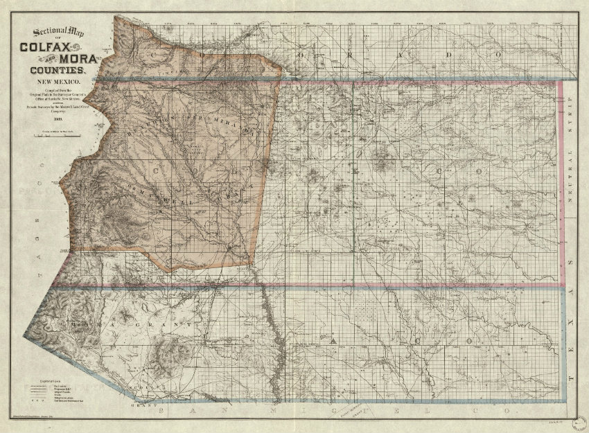 Moracountymap The Land Report