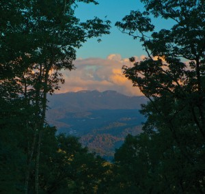 Stunning Blue Ridge Mountain views can be found at every corner.