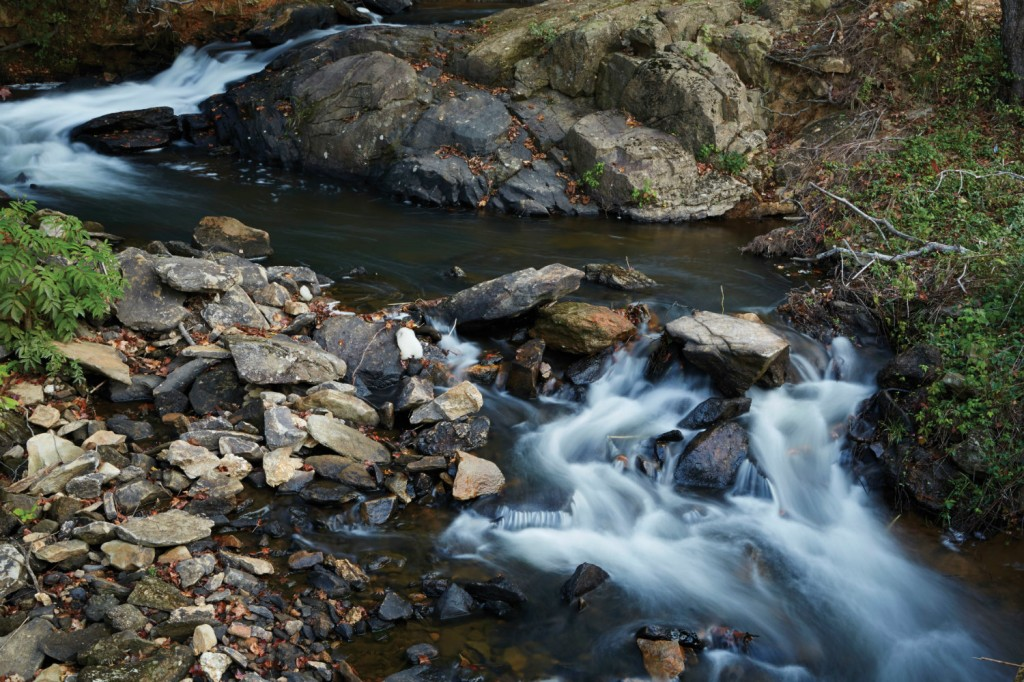 The soothing sound of Clear Creek is one of the resort's many signatures.