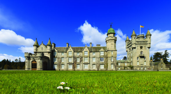 Set on more than 49,000 acres, the Royal Family's Scottish holiday home — Balmoral — is a landmark holding and would not be affected by the recommendations of the Review Group. Previous page: According to the report, 432 private landowners own 50 percent of the private land in rural Scotland.