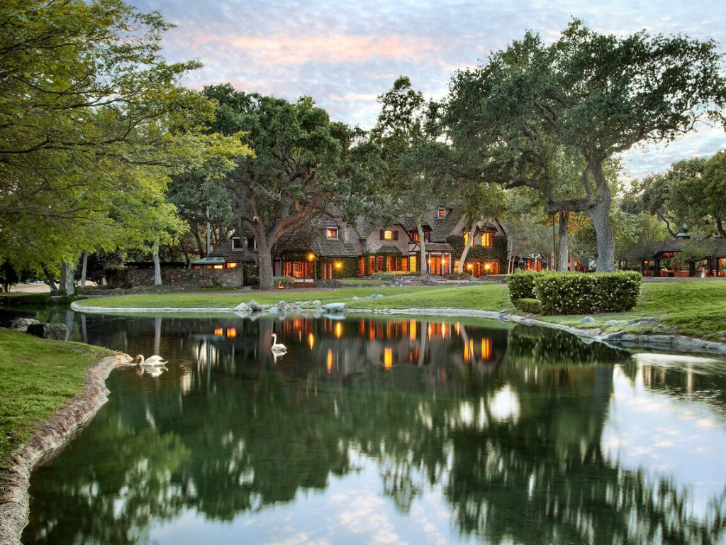 Sycamore Valley Ranch lists for $100 million. The 2,698-acre Central California landmark, which was previously owned by Michael Jackson, is located...