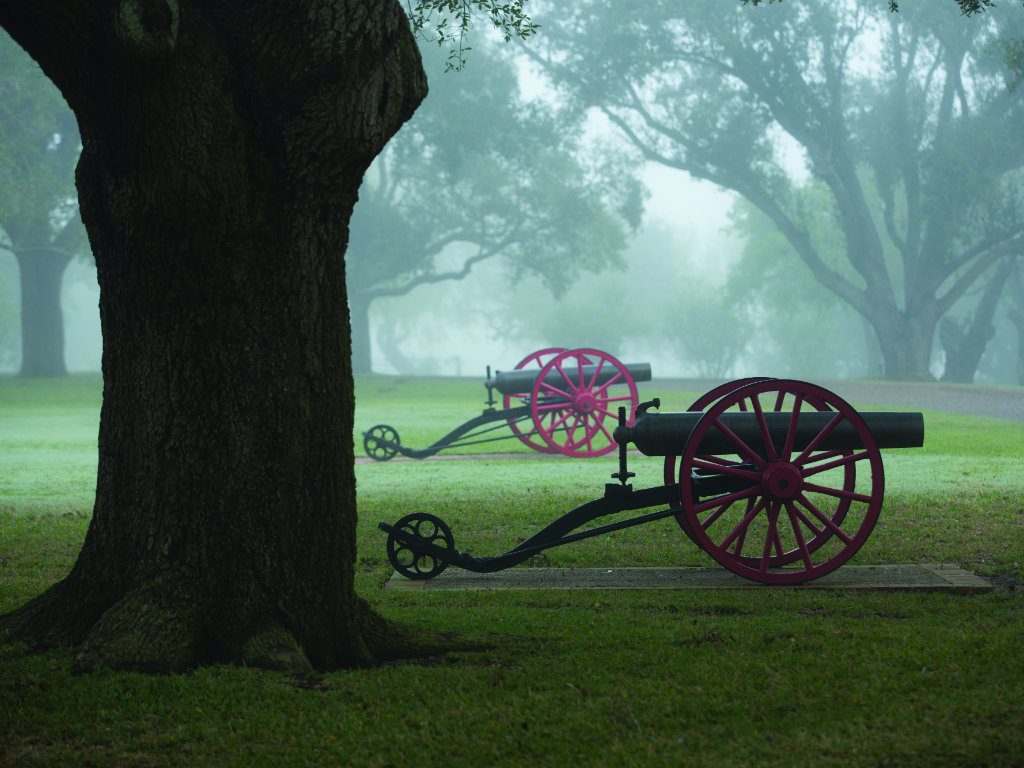 Photography by Wyman Meinzer These cannon are not props. They're the real deal. More than a century ago, Captain King situated them at the Main...