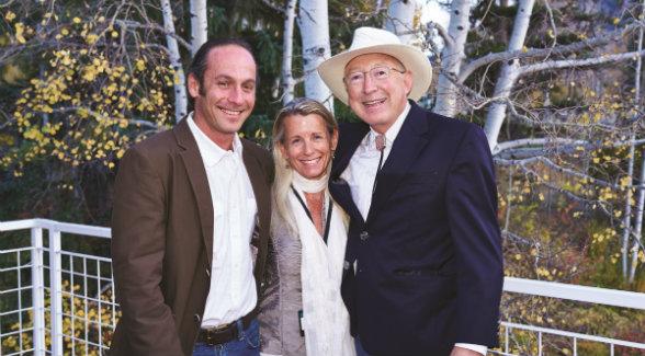 Kenyon Fields, Mary Conover, Ken Salazar.