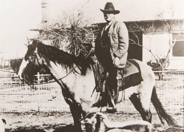 Tom Waggoner drove 5,000 steers through the Indian Territory, but he couldn't corral his heirs.