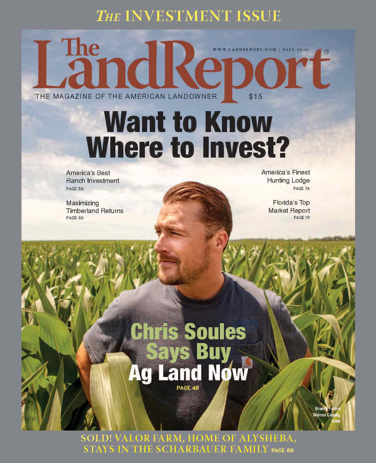 The Land Report | Fall 2016 - cover