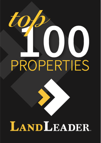 Land Report top 100 properties sponsored by LandLeader