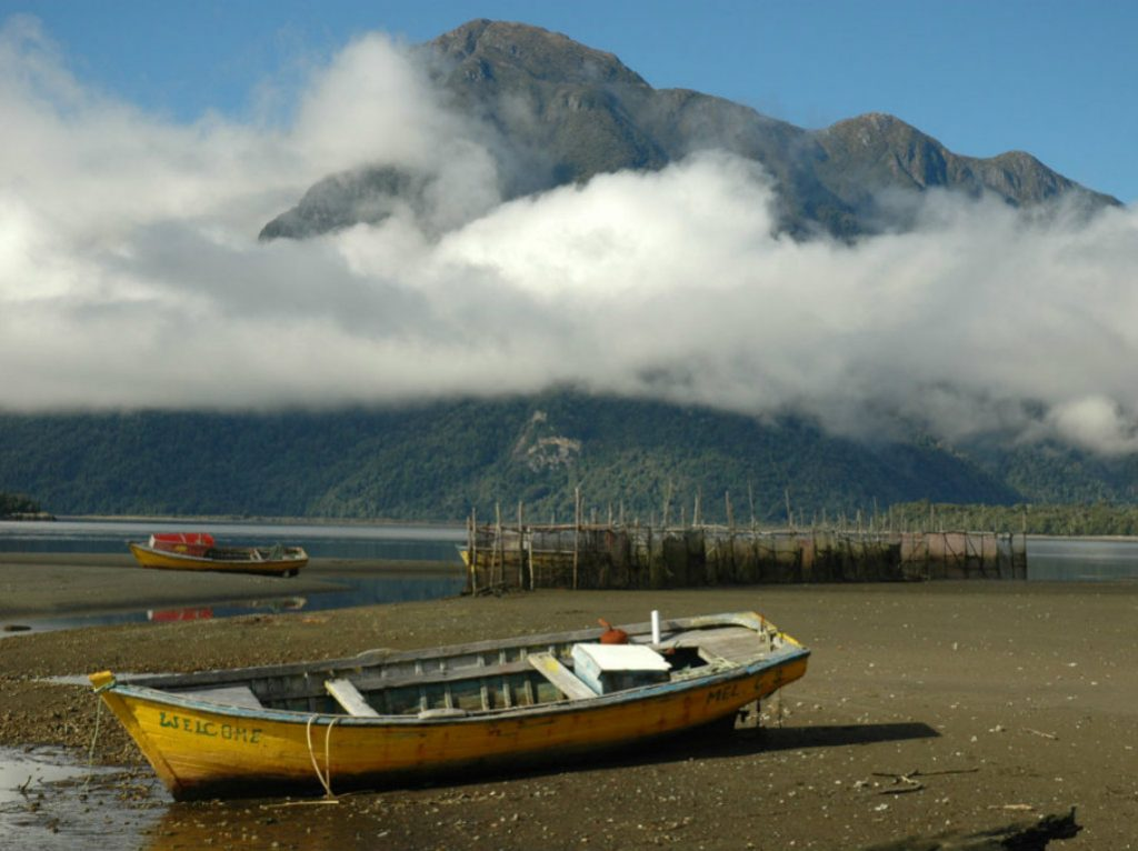 Located at the northern tip of the Aysén region in Southern Chile, 1,700-acre Fundo Los Leones enjoys six miles of private protected shoreline on...