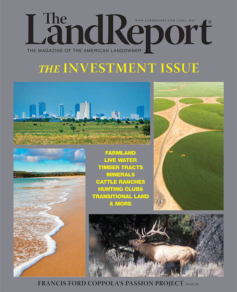 The Land Report Fall 2017 Issue