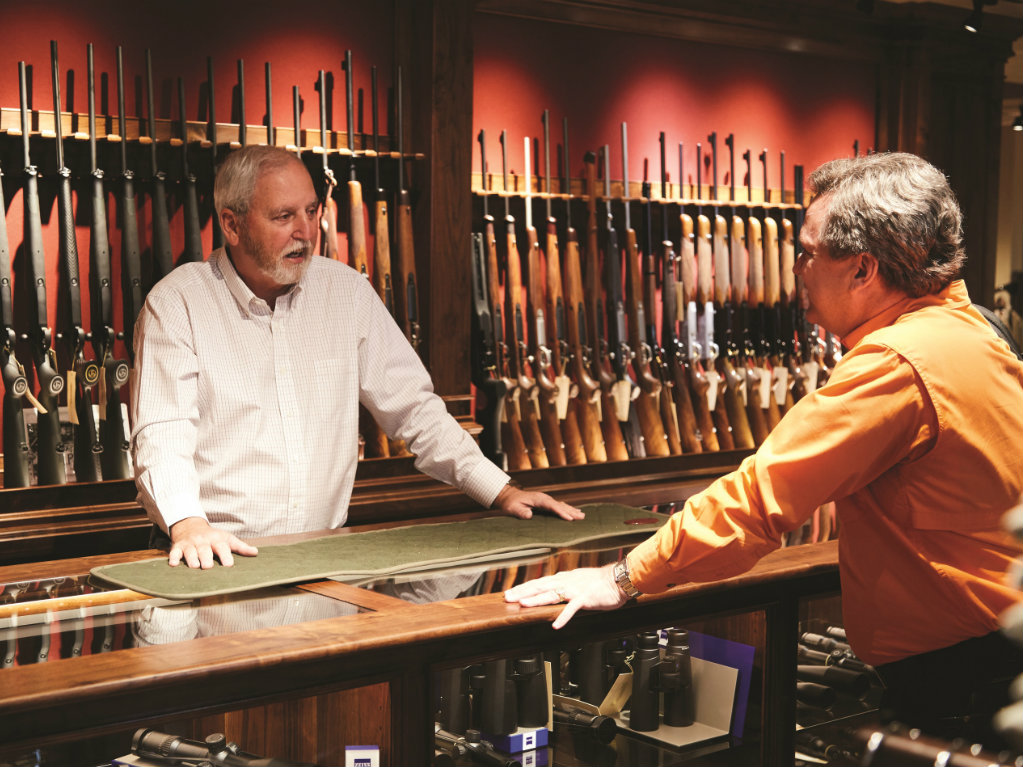 By Henry Chappell Photography by Gustav Schmiege III Russell Gordy has a simple goal for Gordy & Sons: to be the world's greatest gun store. In...