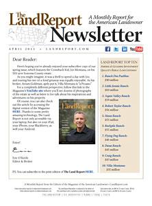 Land Report Newsletter April 2011
