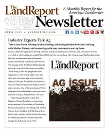 Land Report April 2019 Newsletter