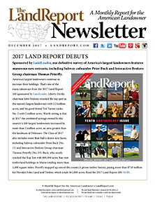 Land Report December 2017 Newsletter