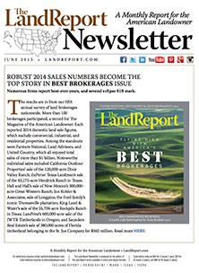Land Report Newsletter June 2015