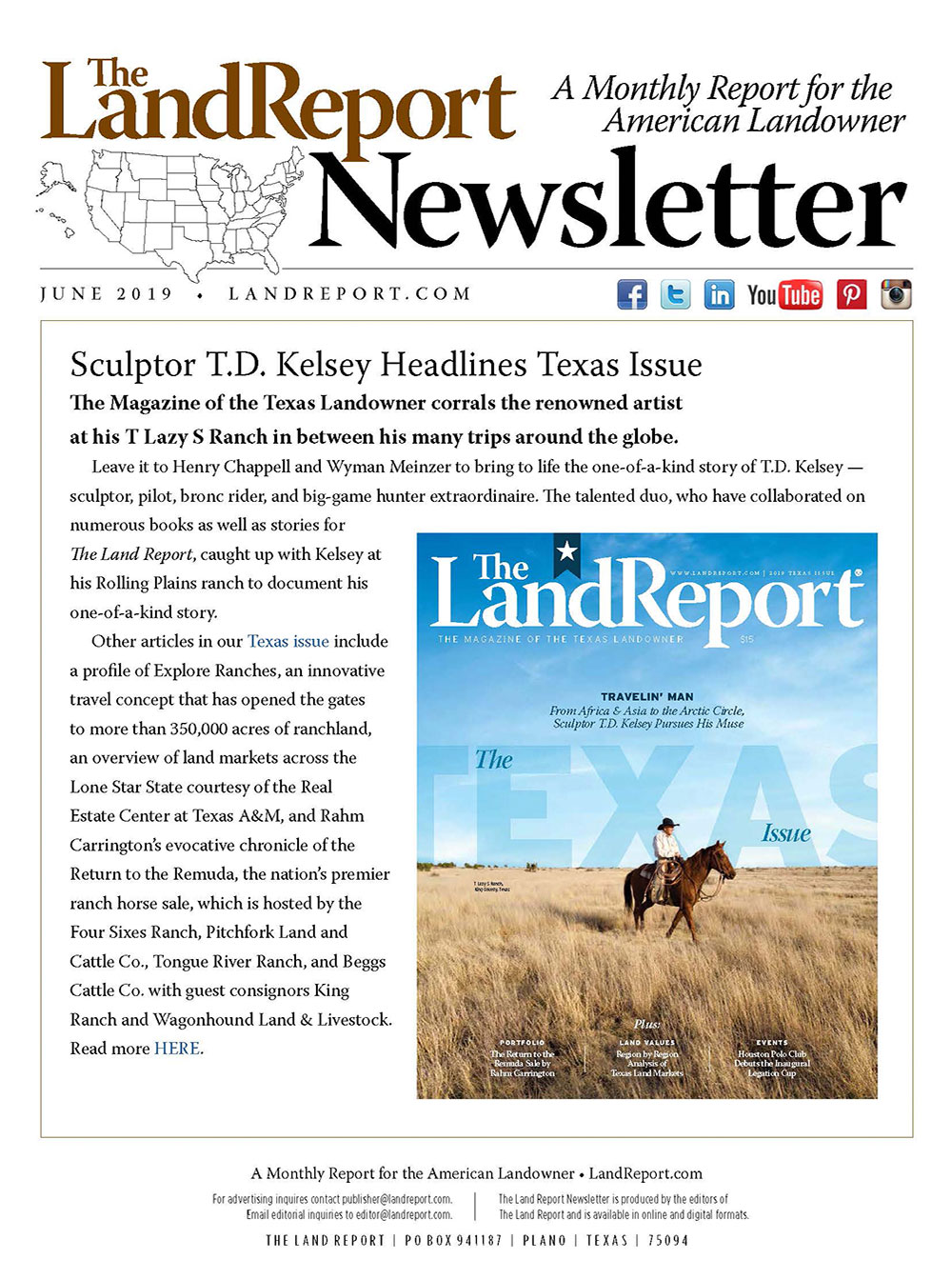 Land Report Newsletter June 2019