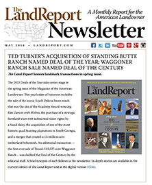 Land Report May 2016 Newsletter