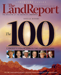 Land Report April cover image