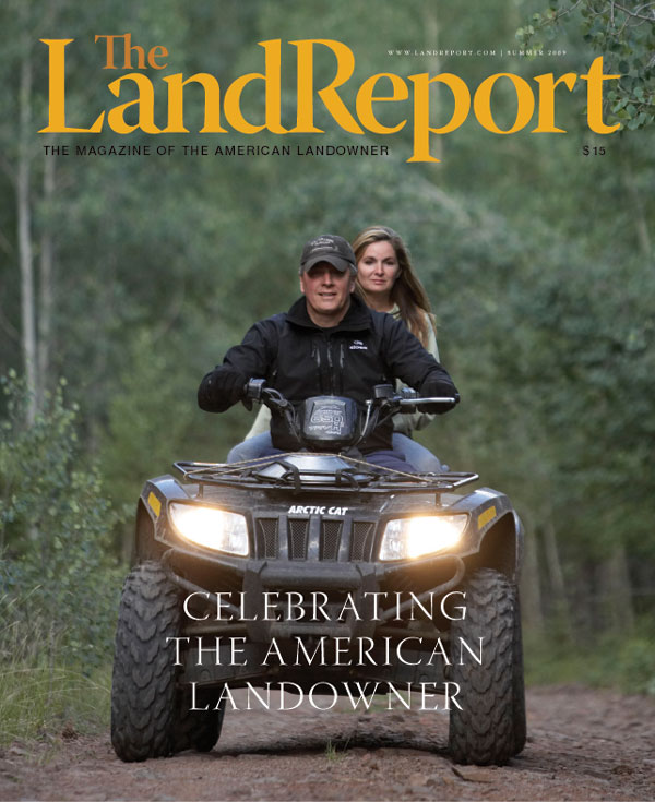 Al and Jeannie Biernats' Colorado cabin were featured in the Summer issue of the Magazine of the American Landowner.