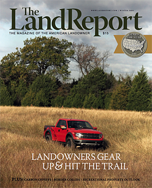 Land Report Winter Issue 2009