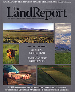 Land Report Spring Issue 2013