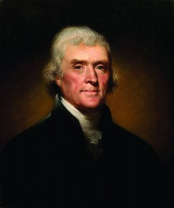 """""""It is impossible for the emotions arising from the sublime, to be felt beyond what they are here …"""" Thomas Jefferson, Notes on the State of Virginia"""