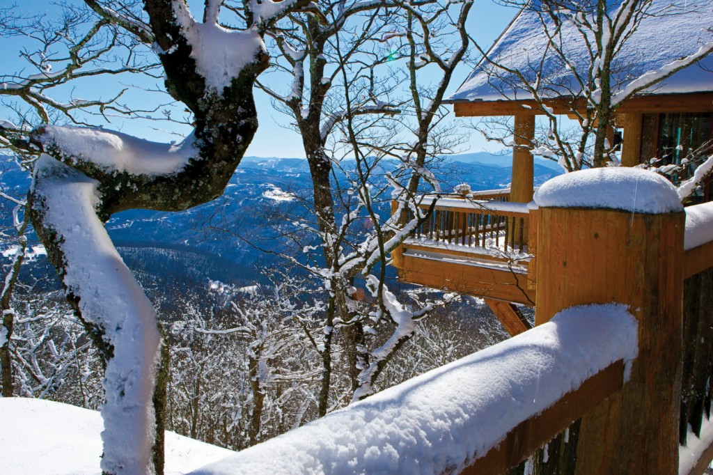 Colorado? No, think again. Thanks to their mile-high setting, North Carolina's Blue Ridge Mountains are an ideal four-season getaway.