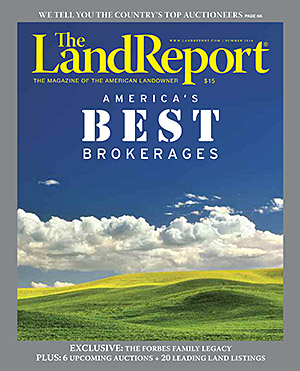 The Land Report: America's Best Brokerages Cover