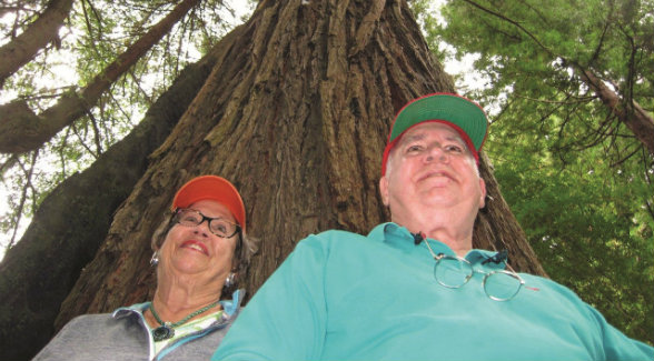 Like the trees they have nurtured, Jane and Ollie's roots run deep at Gualala.
