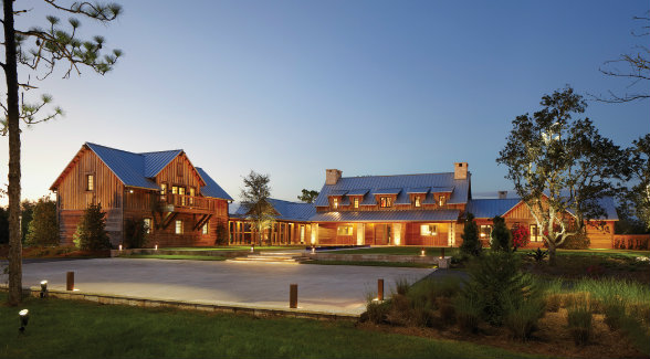 Pine Creek's architectural standards respect traditional techniques while facilitating innovative design.