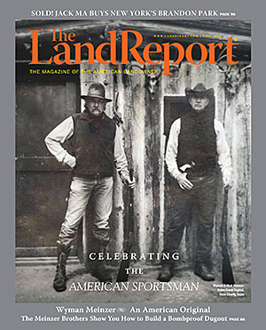 The Land Report 2015: Celebrating the American Sportsman Cover