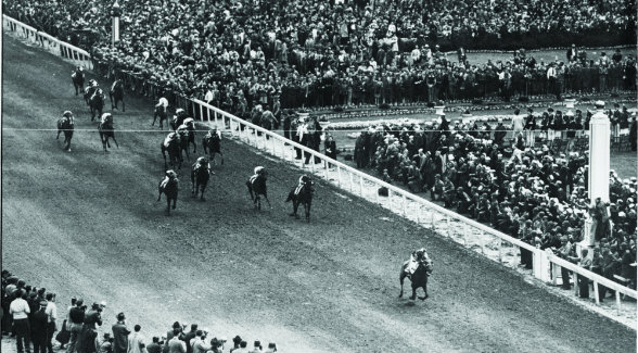 King Ranch's Assault remains the only Texas-bred runner to win the Triple Crown. The son of Bold Venture dusted the field by a record eight lengths to win the 1946 Kentucky Derby.
