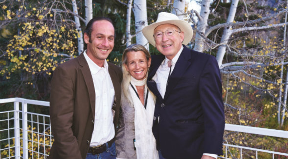 Kenyon Fields, Mary Conover, Ken Salazar.