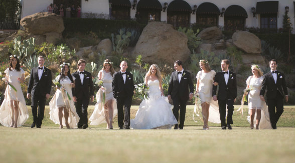 The popular and pricey event venue has hosted a slew of celebrity weddings, corporate conferences, and equestrian events.