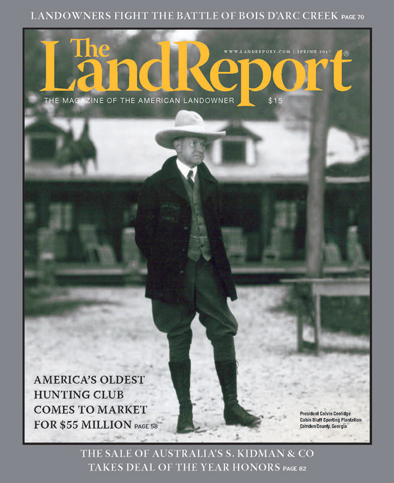 The Land Report Winter 2016 issue