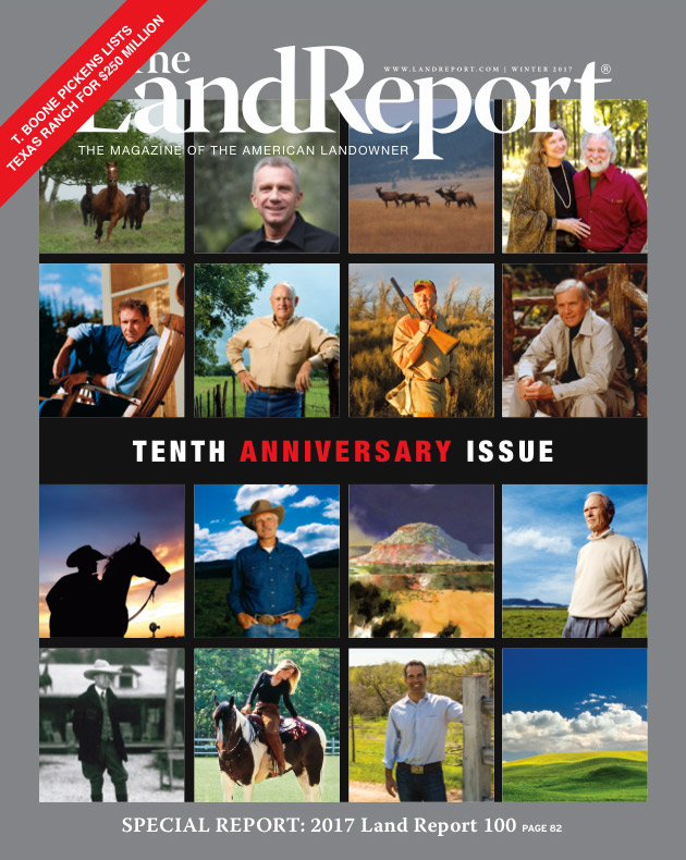 2017 Land Report 100 issue
