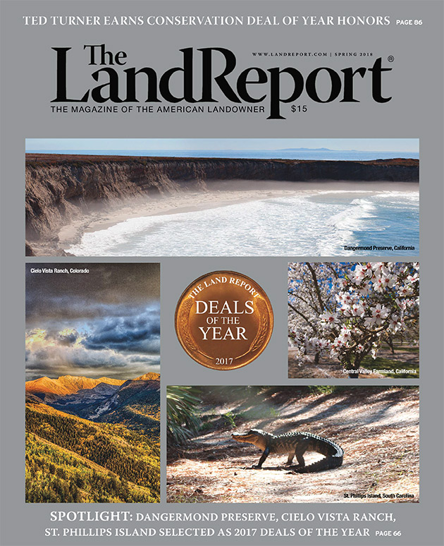 The Land Report Spring 2018 issue