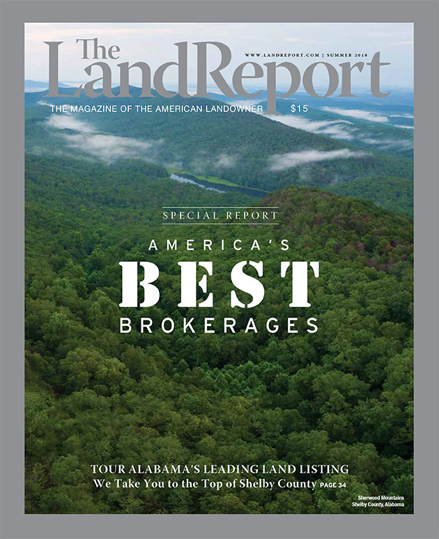 The Land Report Summer 2018 issue