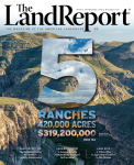 Land Report Winter 2019 issue cover