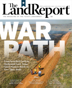 2020 Land Report Texas Issue cover image